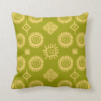 Traditional south american pattern throw pillow