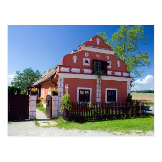 Traditional South Bohemia House Post Cards