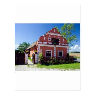 Traditional South Bohemia House Postcard