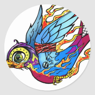 Traditional Sparrow Sticker