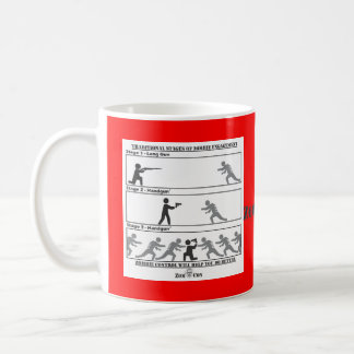 Traditional Stages of Zombie Engagement Coffee Mug