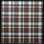"""Traditional Stewart Dress Plaid Cloth Napkin<br><div class=""""desc"""">Handsome traditional red,  white,  yellow,  and green Stewart Dress tartan plaid cloth napkin.  Customize to add any text you want. Matching products available.   Makes a great gift idea for anyone.</div>"""