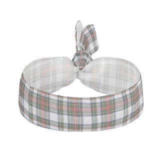 Traditional Stewart Dress Tartan Plaid Head Band Ribbon Hair Tie