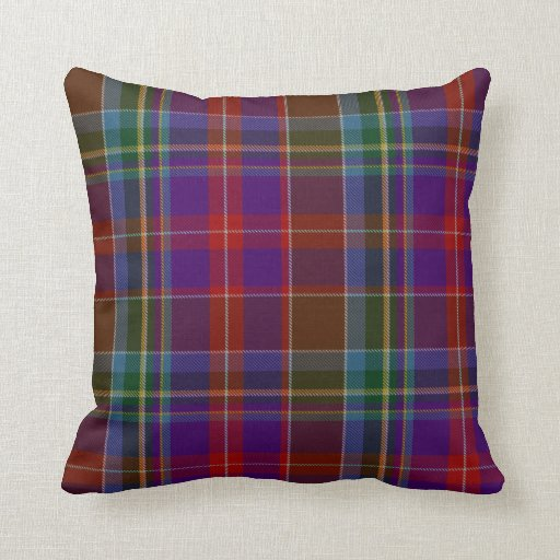 Traditional stuart tartan plaid pillow zazzle Define plaid
