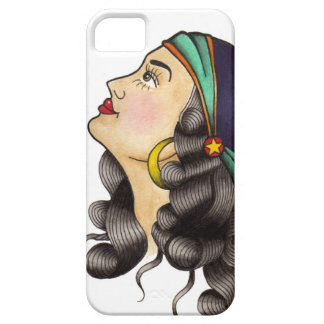 Traditional Tattoo Flash Gypsy iPhone 5 Covers
