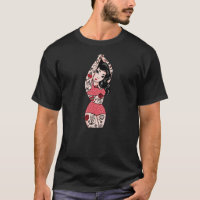 Traditional Tattoo Girl Men's T-Shirt