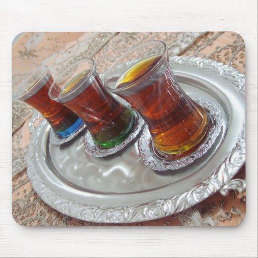 Traditional Tea - Turkish Cay Mousepads