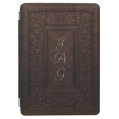 Traditional Tooled Leather Book Cover at Zazzle