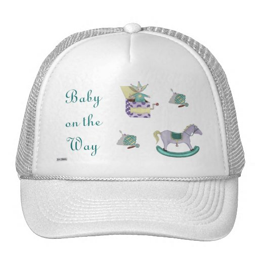 Traditional Toys/Pastel (Baby Shower) Mesh Hat