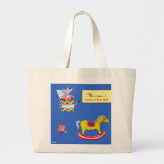 Traditional Toys/Primary Colours Jumbo Tote Bag