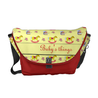Traditional Toys/Primary Colours Messenger Bag