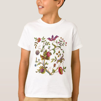 Traditional Tree of Life Embroidery Pattern T-Shirt