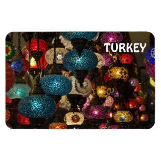 Traditional Turkish lamps Rectangular Photo Magnet