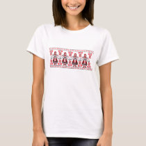 Traditional Ukrainian embroidery ukraine girls T-Shirt