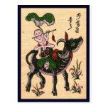 Traditional Vietnam culture Post Card