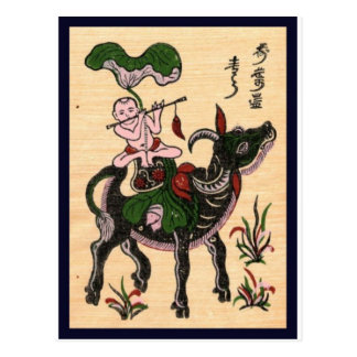 Traditional Vietnam culture Postcard