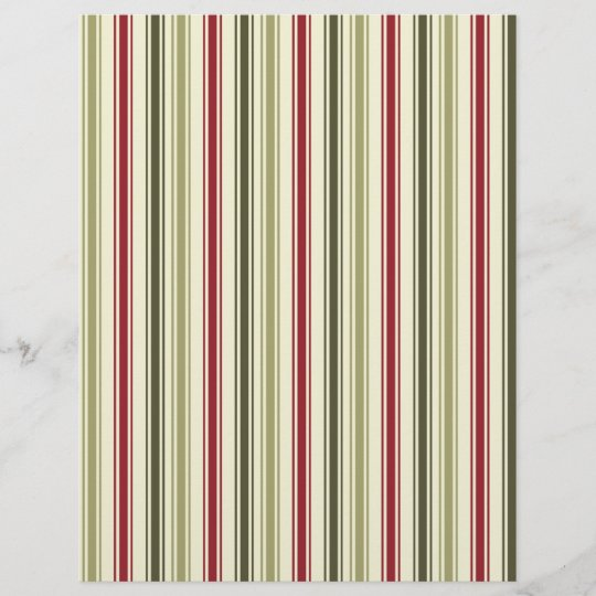 Christmas Scrapbook Paper.Traditional Vintage Christmas Scrapbook Paper
