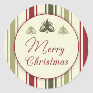 Traditional/Vintage Christmas Sticker
