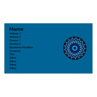 Traditional vintage OTTOMAN TILE Business Cards