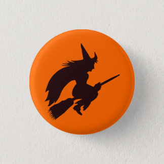 Traditional Witch Button