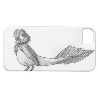 Traditionally-Drawn Reptilian Bird iPhone Case Case For iPhone 5/5S