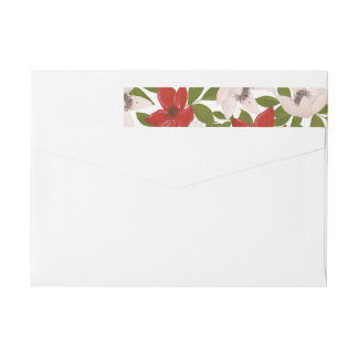 Traditions Collection Holiday Wrap labels