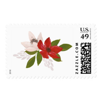 Traditions Holiday Floral Return Postage