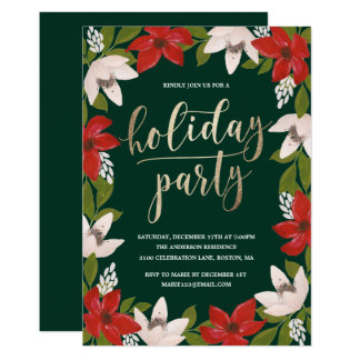 Traditions Holiday Party Invitation