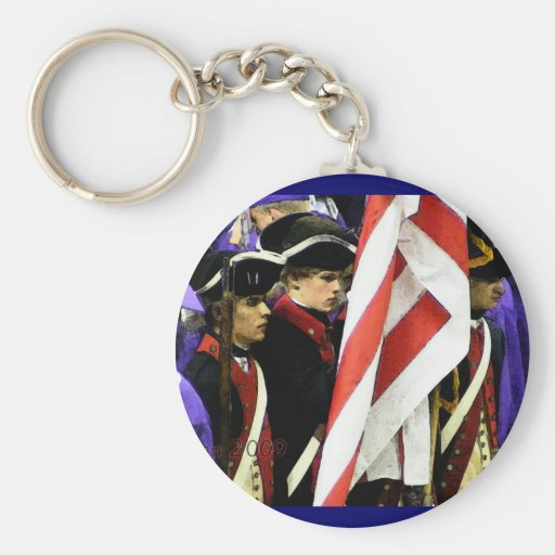 Traditions, USA Keychain