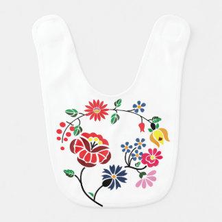 Traditonal Hungarian Embroidery Baby Bib