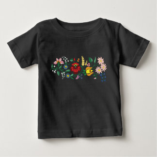 Traditonal Hungarian Embroidery baby t-shirt