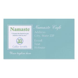 Traducción de Namaste Plantilla De Tarjeta Personal