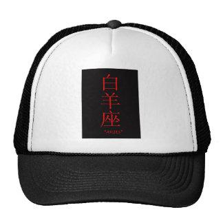 Traducción del chino de la muestra del zodiaco del gorros