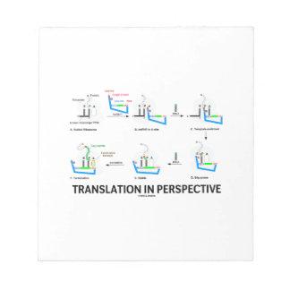 Traducción en la perspectiva proteína de la biolo