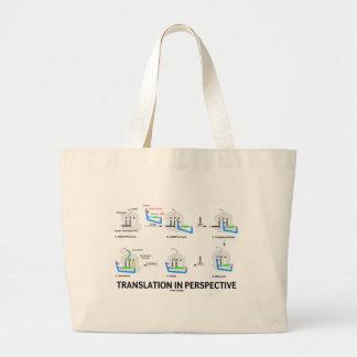 Traducción en la perspectiva proteína de la biolo bolsa de mano