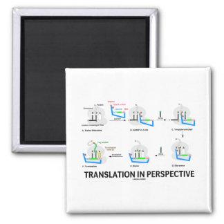 Traducción en la perspectiva (proteína de la biolo imán para frigorífico