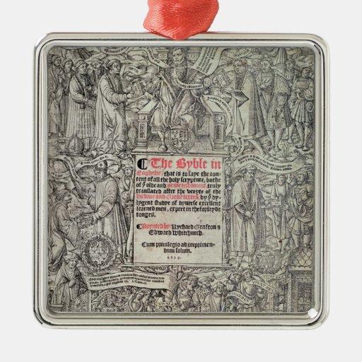 Traducción inglesa de Titlepage del grande Ornamento Para Arbol De Navidad