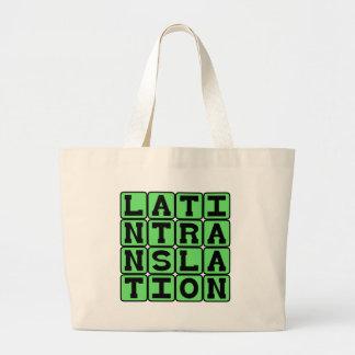 Traducción latina