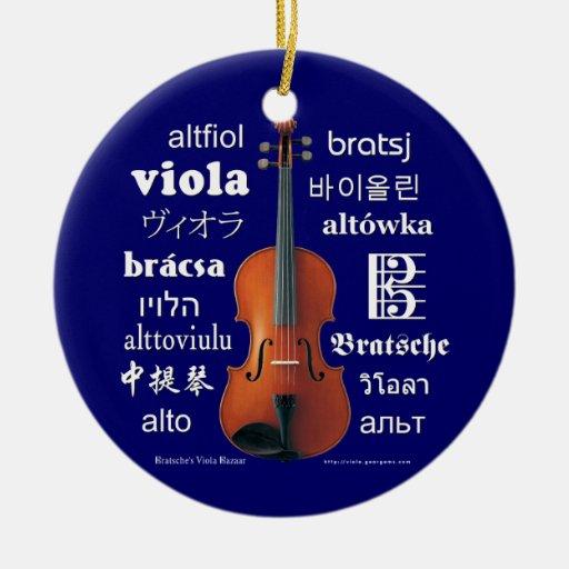 Traducciones de la viola ornamente de reyes