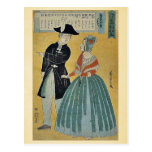 Traducciones por Utagawa, Yoshitora Tarjetas Postales