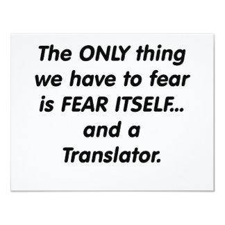 traductor del miedo comunicados personales
