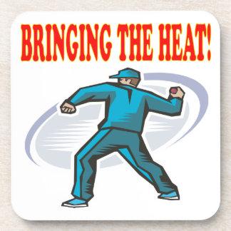 Traer el calor posavaso