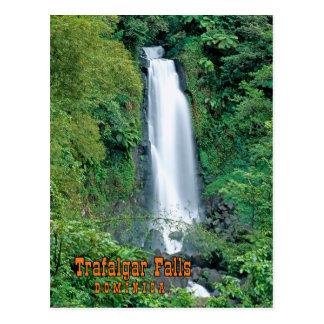 Trafalgar falls postcard