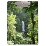 Trafalgar Falls Tropical Rainforest Photography Clipboard