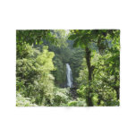 Trafalgar Falls Tropical Rainforest Photography Fleece Blanket