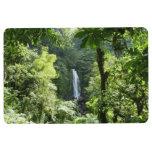Trafalgar Falls Tropical Rainforest Photography Floor Mat