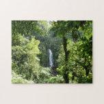 Trafalgar Falls Tropical Rainforest Photography Jigsaw Puzzle