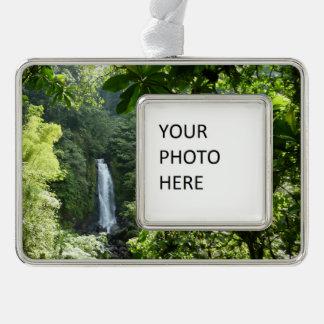 Trafalgar Falls Tropical Rainforest Photography Ornament