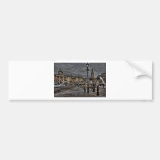 Trafalgar Square Car Bumper Sticker