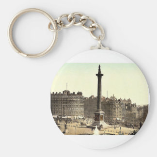 Trafalgar Square, from National Gallery, London, E Key Chains
